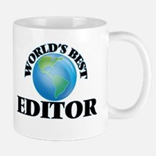 World's Best Editor Mugs