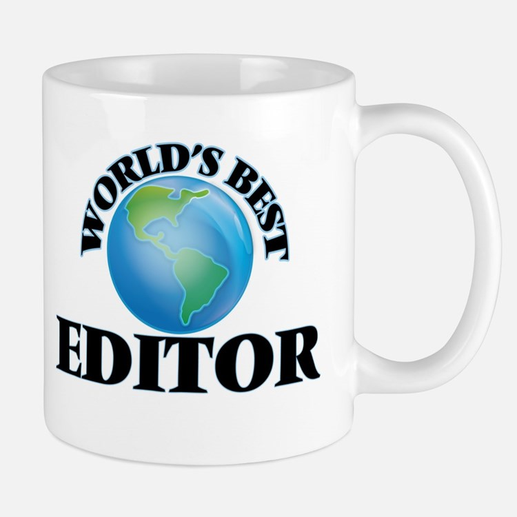 World's Best Editor Mugs