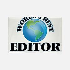 World's Best Editor Magnets