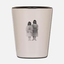 Ghost girls Shot Glass