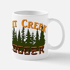 Shit Creek Logger Logo Mugs