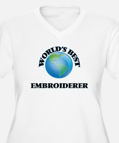 World's Best Embroiderer Plus Size T-Shirt