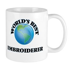 World's Best Embroiderer Mugs