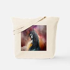 Fantasy Shire Horse Tote Bag