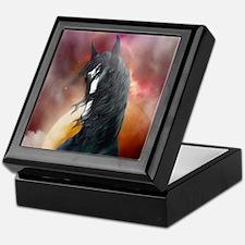 Fantasy Shire Horse Keepsake Box