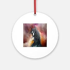 Fantasy Shire Horse Ornament (Round)