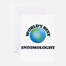 World's Best Entomologist Greeting Cards