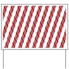 Candy Cane Yard Sign