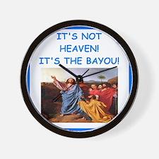 bayou Wall Clock