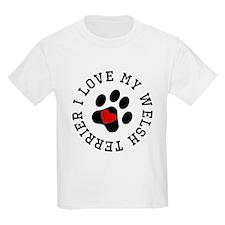 I Love My Welsh Terrier T-Shirt