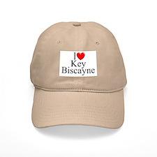 """""""I Love Key Biscayne"""" Baseball Cap"""