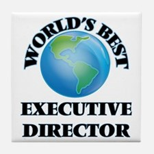 World's Best Executive Director Tile Coaster