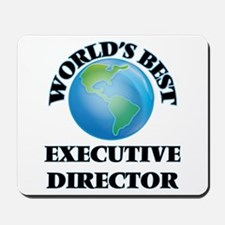 World's Best Executive Director Mousepad