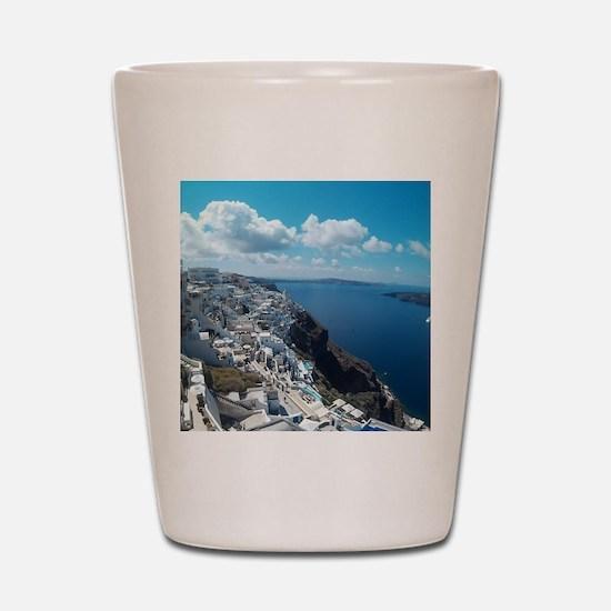 Santorini Shot Glass