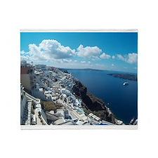 Santorini Throw Blanket