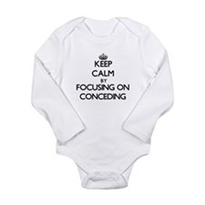 Keep Calm by focusing on Conceding Body Suit