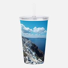 Santorini Acrylic Double-wall Tumbler