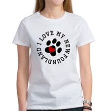 I Love My Newfoundland T-Shirt