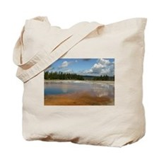 Yellowstone mineral lake #4 Tote Bag