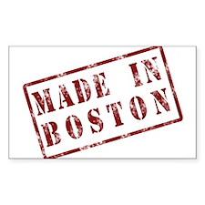 Made In Boston - Sticker (Rect.)