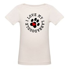 I Love My Labradoodle T-Shirt
