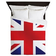 Union Jack Uk Flag Queen Duvet