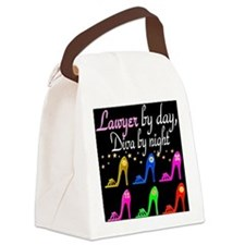 LAWYER SHOE QUEEN Canvas Lunch Bag