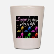 LAWYER SHOE QUEEN Shot Glass