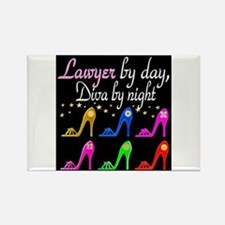 LAWYER SHOE QUEEN Rectangle Magnet