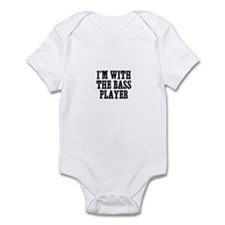 I'm with the bass player Infant Bodysuit
