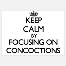 Keep Calm by focusing on Concoctions Invitations