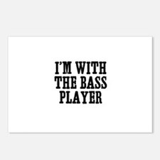 I'm with the bass player Postcards (Package of 8)