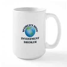 World's Best Investment Broker Mugs