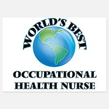 World's Best Occupational Health Nurse Invitations