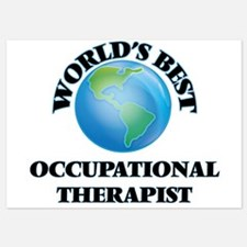 World's Best Occupational Therapist Invitations