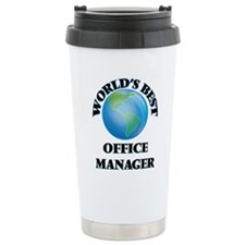 World's Best Office Man Travel Coffee Mug