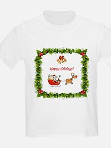 Happy Holidays Christmas T-Shirt
