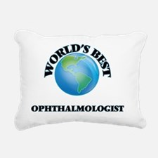 World's Best Ophthalmolo Rectangular Canvas Pillow