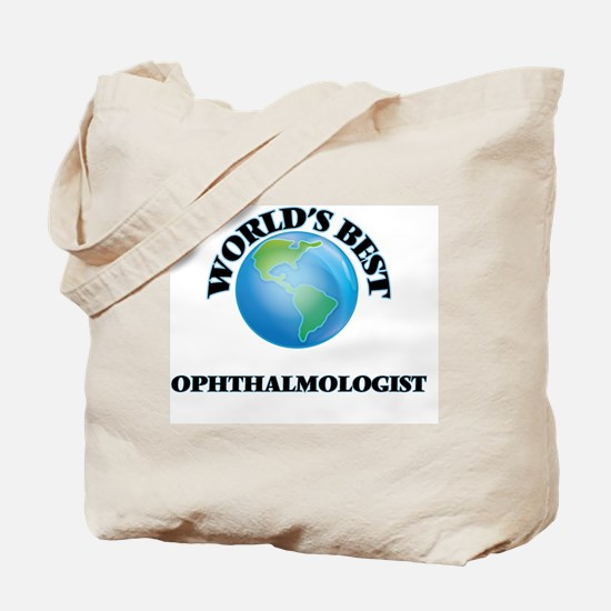 World's Best Ophthalmologist Tote Bag