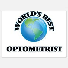 World's Best Optometrist Invitations
