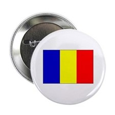 Romanian Flag Button