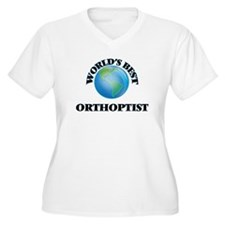 World's Best Orthoptist Plus Size T-Shirt