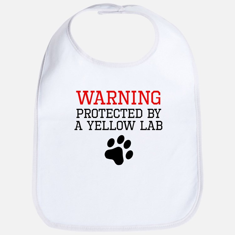 Protected By A Yellow Lab Bib