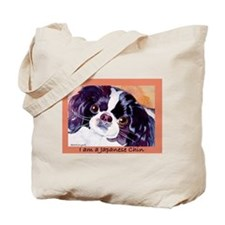 Japanese Chin Cute Things Tote Bag
