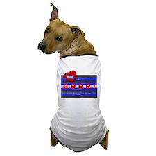 LEATHER PRIDE/GRRR!/BRICK Dog T-Shirt