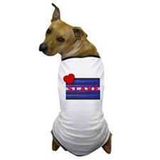 LEATHER PRIDE/SLAVE/BRICK Dog T-Shirt