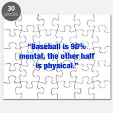 Baseball is 90 mental the other half is physical P