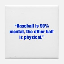 Baseball is 90 mental the other half is physical T