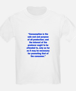 Consumption is the sole end and purpose of all pro