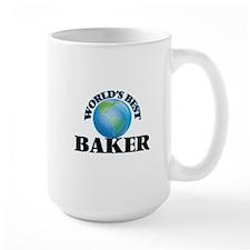 World's Best Baker Mugs